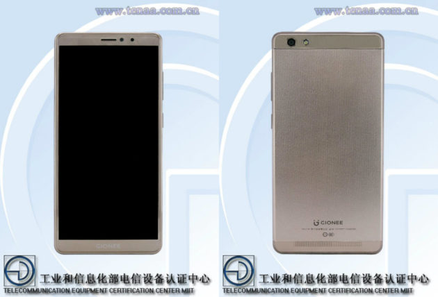 Gionee GN5006L svelato su TENAA con 3 GB di RAM e batteria da 4000 mAh