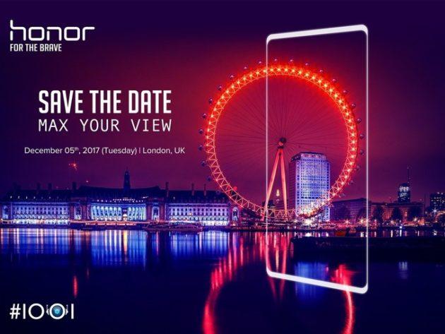 Honor V10 farà il suo debutto il 28 Novembre