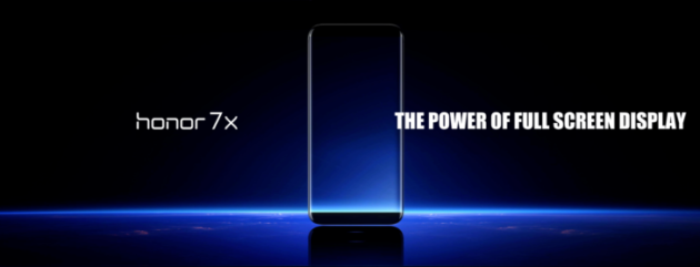 Honor 7X in arrivo con display 18:9 e 4GB di RAM