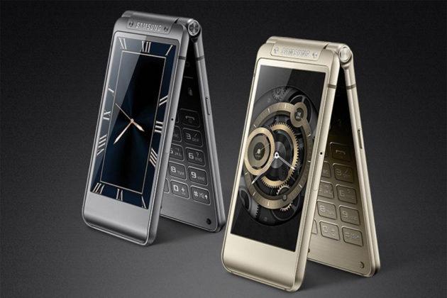 Samsung W2018, flagship con design a conchiglia