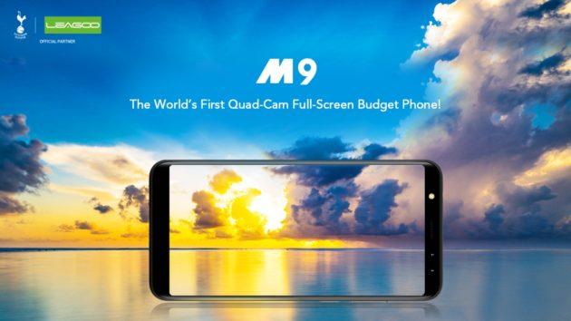 Leagoo M9, budget phone da 80$ con doppia dual camera