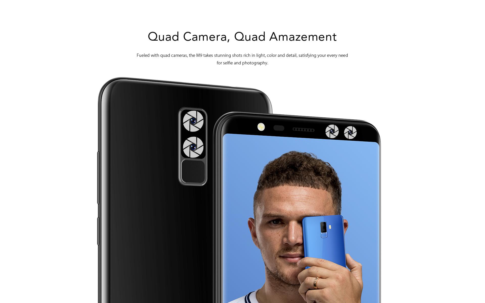 Leagoo M9 camera