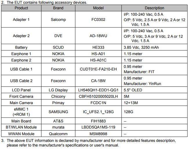 Certificazione FCC Nokia9