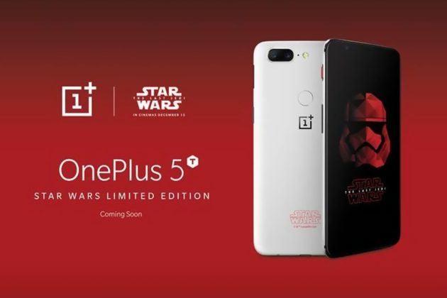 OnePlus 5T Star Wars Edition regala una stella agli acquirenti