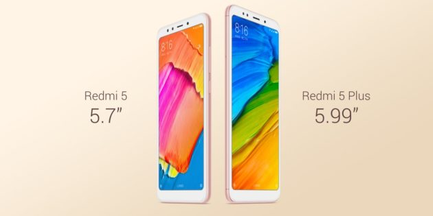 RedMi 5 e RedMi 5 Plus sono stati finalmente ufficializzati da Xiaomi