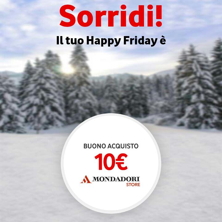 Vodafone Happy Friday il regalo di questa settimana – 221217