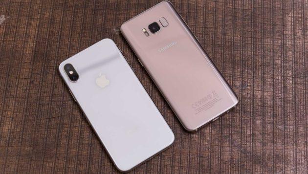iPhone è più stabile degli smartphone Android, male Samsung