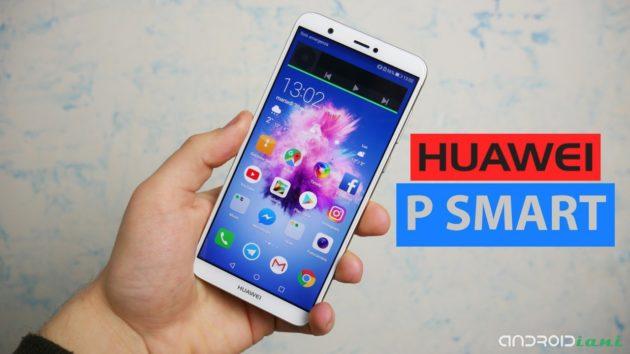 Huawei P Smart, display 18:9 e doppia fotocamera a €224 | Recensione
