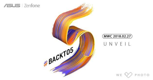 Zenfone 5, ASUS conferma che la nuova serie sarà svelata durante il MWC 2018