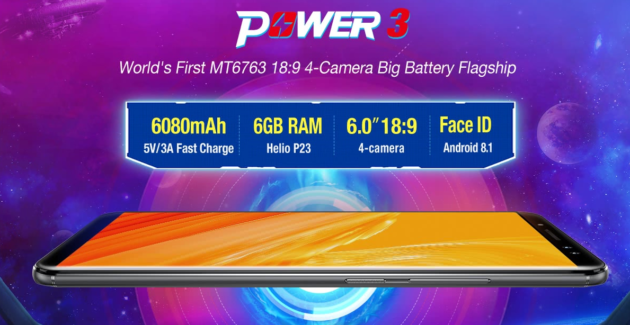 Ulefone Power 3: presale su Tomtop