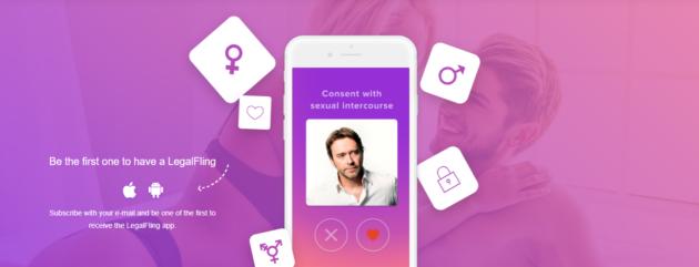 LegalFling, un'app per dare consenso a un rapporto sessuale