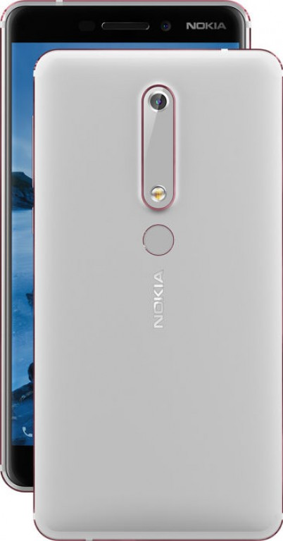 Nokia 6 White and Red