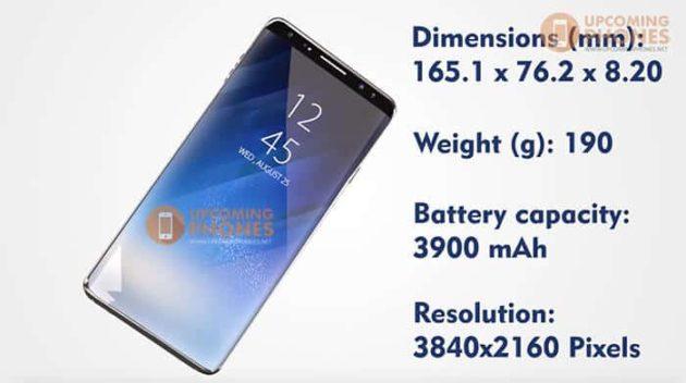 Samsung Galaxy Note 9, ecco un interessante concept