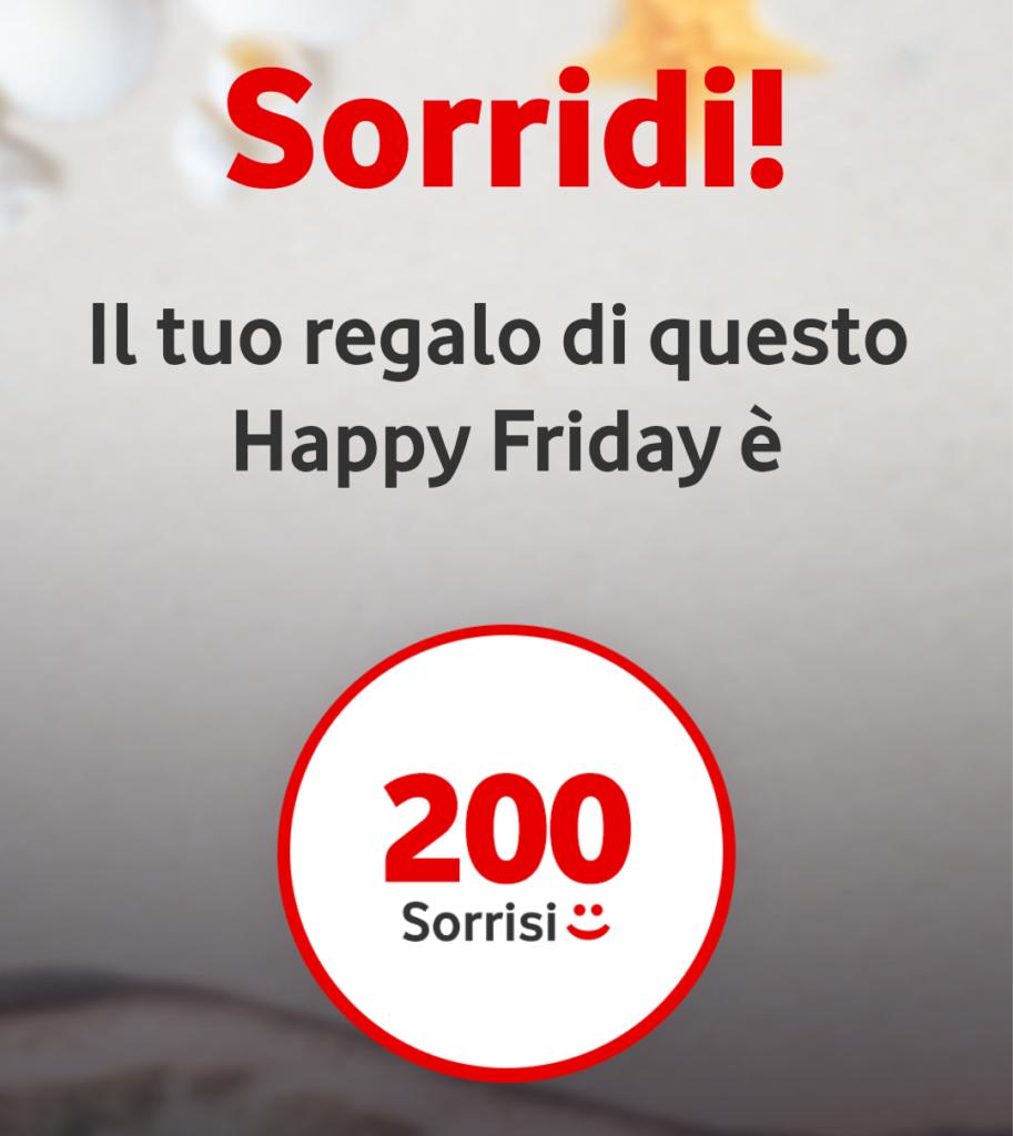 Vodafone Happy Friday il regalo di questa settimana – 120118
