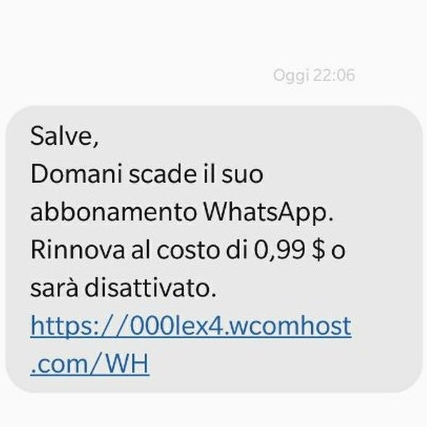 WhatsApp, non c'è pace per gli utenti ecco la nuova truffa!