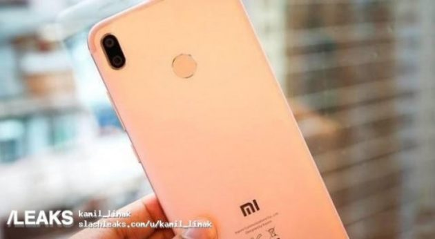 Xiaomi Mi 6X, prime foto leaked del device