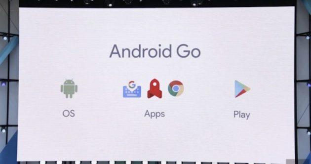 Android Go, in arrivo i primi smartphone