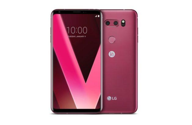 LG V30: in arrivo la colorazione Raspberry Rose