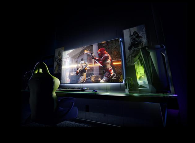 Nvidia annuncia un tv da 65