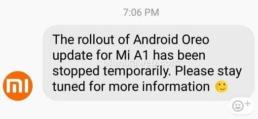 xiaomi update stop