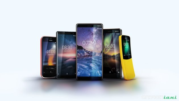 [MWC 2018] NOKIA 8110, NOKIA 1 e NOKIA 6 (2018) presentati ufficialmente