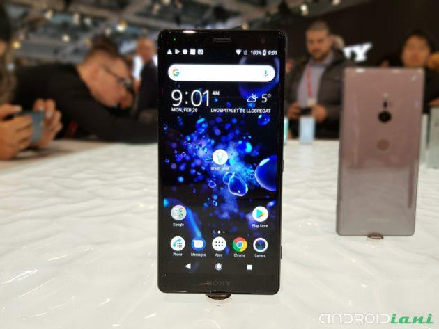 [MWC 2018] Sony Xperia XZ2, ufficiale il nuovo flagship Sony