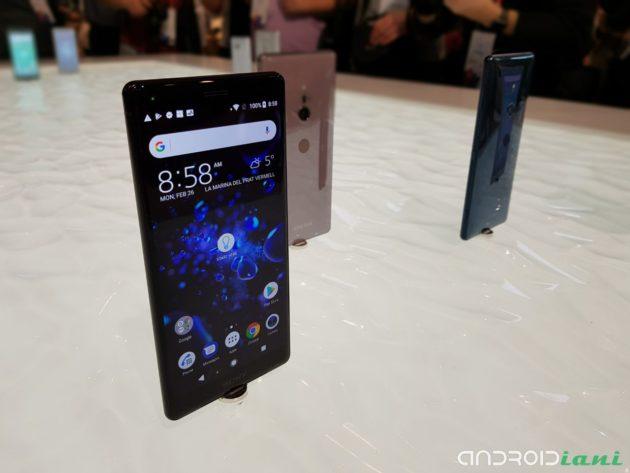 Sony ha rimosso il jack da 3,5mm su Xperia XZ2 e XZ2 Compact