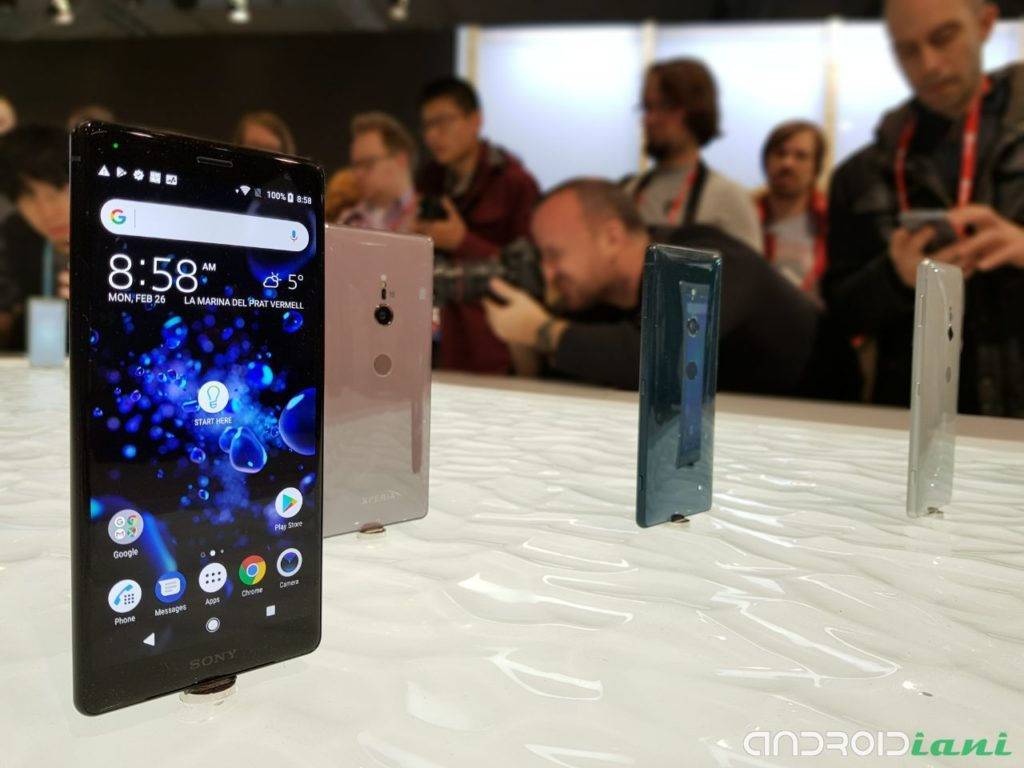 Sony Xperia XZ2 e XZ2 Compact: al via i preordini in Italia
