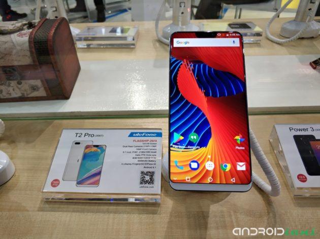 [MWC 2018] Ulefone T2 Pro presentato ufficialmente: ecco il primo Android con notch
