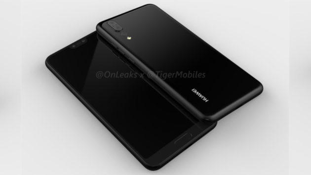 Huawei P20 si mostra in un nuovo render 3D [VIDEO]