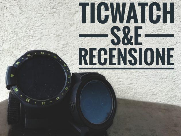 Recensione di Ticwatch Sport & Express: Android Wear al giusto prezzo