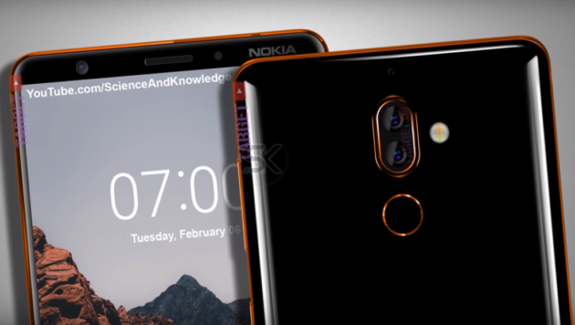 Nokia 7 Plus, nuovi render ne anticipano il design