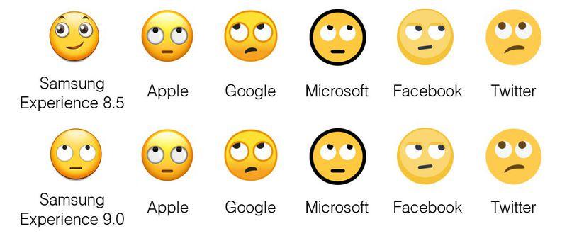Samsung Experience 9.0, le nuove emoji per Android Oreo (1)