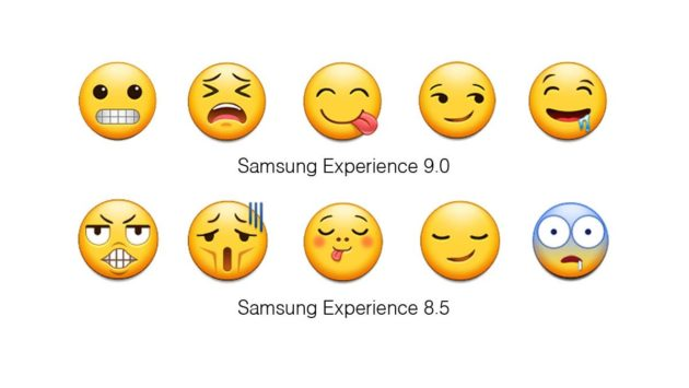 Samsung Experience 9.0, le nuove emoji per Android Oreo