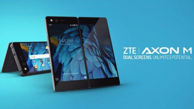 ZTE Axon M, smartphone dual screen pieghevole, arriva in Italia con TIM