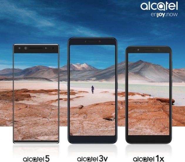 Alcatel presenterà 3 nuovi smartphone al MWC 2018