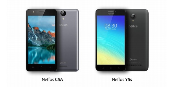 TP-Link presenta i nuovi Neffos Y5s e C5A