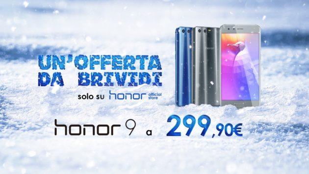 Honor 9 a €299 e 7X a €249 fino al 7 marzo, ecco come