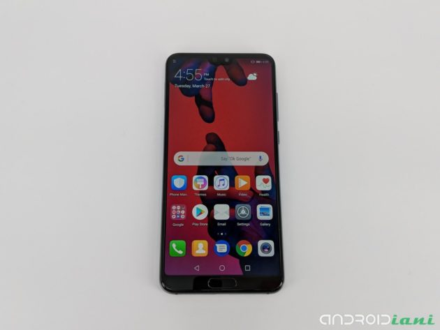 Huawei P20 Pro ufficiale: 3 fotocamere, Intelligenza Artificiale e Notch