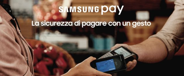 Samsung Pay arriva in Italia
