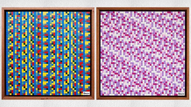 Un artista ha nascosto 10.000$ in criptovalute nelle sue opere