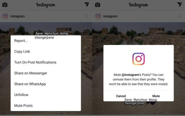 Instagram al lavoro su un tasto