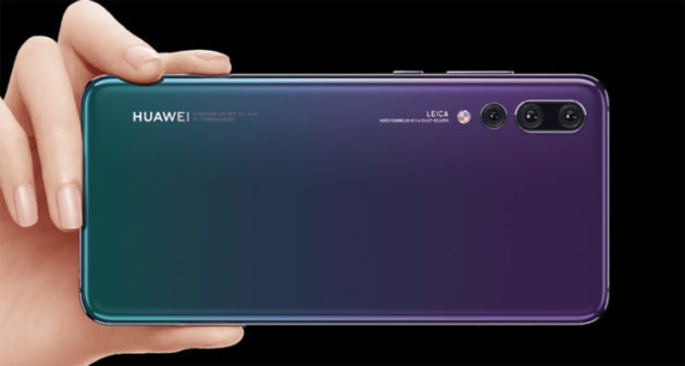 Huawei P20 Pro registra vendite record in Europa occidentale