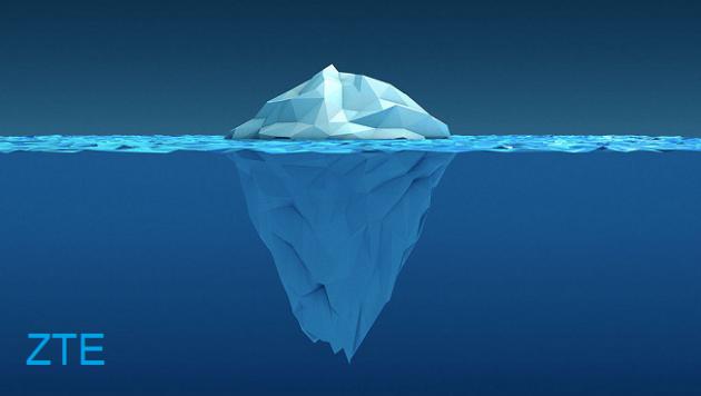 ZTE Iceberg e la tentazione del doppio notch - RENDER