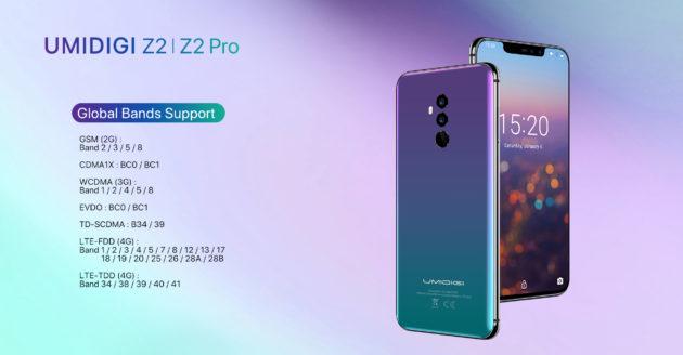 UMIDIGI Z2 Pro: rilasciate specifiche parziali