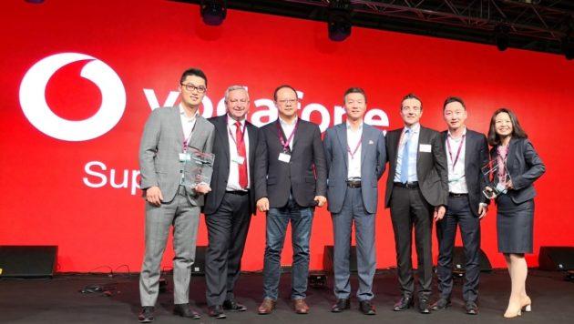 """Huawei premiata da Vodafone come """"Fornitore del decennio 2008-18"""""""
