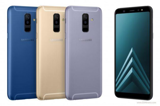 Samsung svela Galaxy A6 e A6+