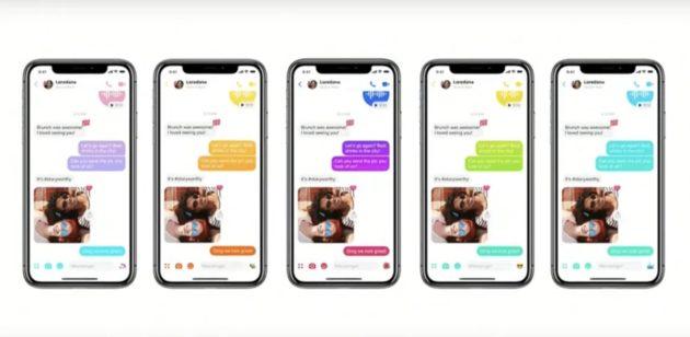 Facebook rivoluziona e semplifica l'interfaccia grafica di Messenger
