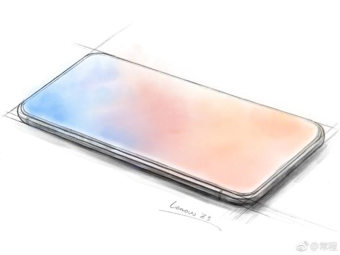 Lenovo Z5, lo smartphone tutto schermo senza notch