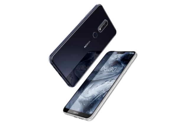 Nokia X6 presentato in Cina: Snapdragon 636, display 19:9 con notch e intelligenza artificiale